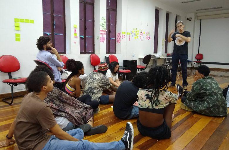 Oratória para Jovens do Nave Lab CriaAtivo em Triagem