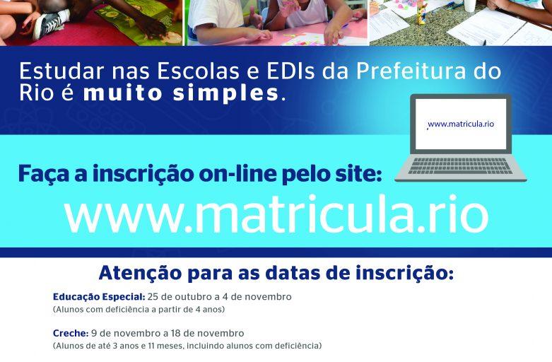 Naves do Conhecimento participam do processo de matrícula online para novos alunos da rede municipal
