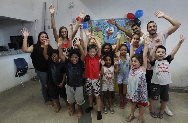 Comemoração do Dia das Crianças na Nave Madureira