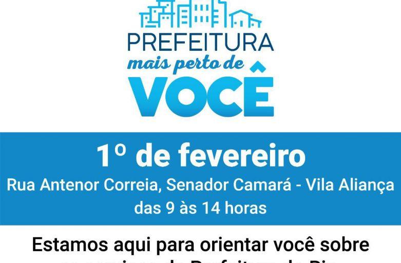"""Nave de Vila Aliança recebe projeto """"Prefeitura Mais Perto de Você"""""""
